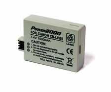 Power2000  2 Pack LP-E5 Rechargeable Battery for Canon XS, XSi, T1i SLR Camera