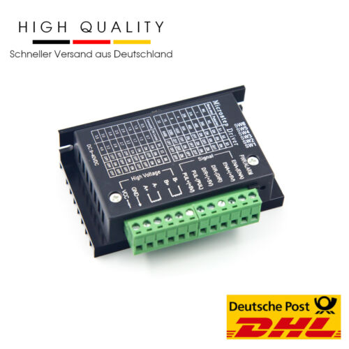 Tb6600 nema 17 stepper motor Driver 4a 2//4 fase motor PAP controlador controlador