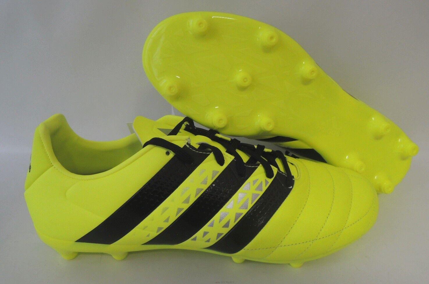 NEU Fußballschuhe adidas ACE 16.3 FG Leather Größe 41 1 3 Fußballschuhe AQ4456  | Lebensecht