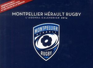 Montpellier Rugby Calendrier.Details Sur Tres Beau Agenda Calendrier 2014 Montpellier Herault Rugby