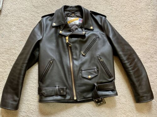 Schott 618 Classic Perfecto Steerhide Leather Moto