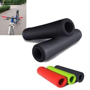 Lenker-Griffe-Scooter-BMX-MTB-Mountainbike-Fahrrad-Zyklus-Ultraleicht-Silikon-1F