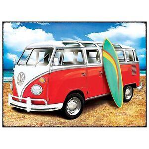 blechschild surf bulli t1 t2 t3 vw volkswagen samba. Black Bedroom Furniture Sets. Home Design Ideas