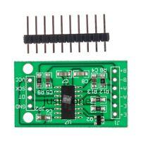 Neu AD Modul Dual-Kanal 1x HX711 Wägesensor 24 Bit Präzision Drucksensor Modul