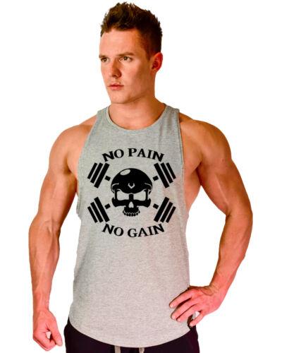Men/'s Gym Summer Bodybuilding Stringer Training Fitness Muscle Tank Top Vest