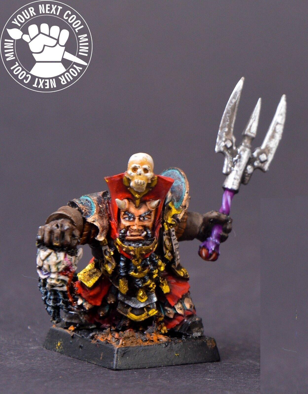 Warhammer FB T9A AOS. infernale nains, daemonsmiths 1 Résine Miniature, PP