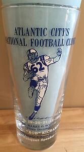 Atlantic City's National Football Clinic 1962 Glass Woody Hayes Frank Broyles