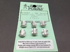 HO 1/87 Alloy Forms # 3082 Gas Tank, Round w/Steps (3 pair)