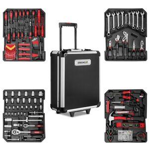 Maleta-herramientas-819-piezas-acero-trolley-aluminio-con-ruedas-GREENCUT