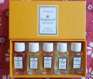 FRAGONARD-WOMEN-Vintage-Mini-Box-set-5-Parfum-5-x-2ml-5-x-07-fl-oz