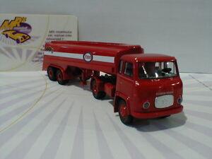Brekina-85164-Scania-LB-76-Tank-Sattelzug-034-Esso-034-in-rot-weiss-1-87-NEU