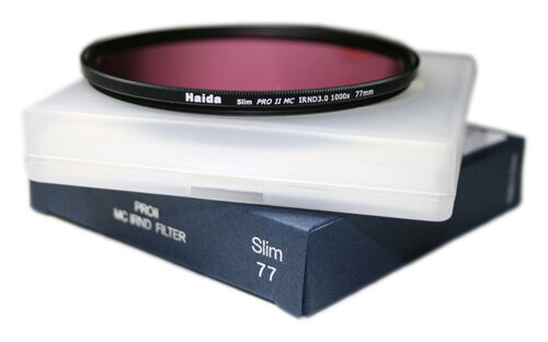 Haida PRO II (PROII) MC Neutral Density Filter IRND 3.0 SLIM 1000x - 77mm IR ND