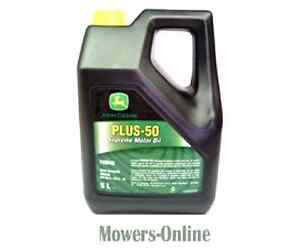 Details about John Deere Plus 50 Multi Purpose Engine Oil 5 Litres  VC50002-005 SAE 15W40