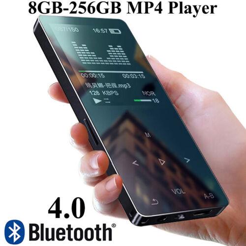 MP3 MP4 Player 8GB-256GB Bluetooth Portable Walkman Touch key Music Player Video