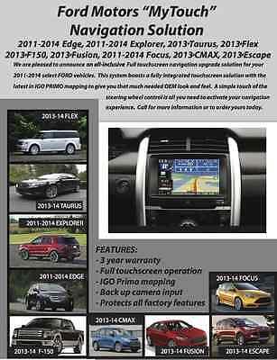 Ford Taurus 2013 2015 Touch Screen Navigation System 3 Yr Warranty Ebay