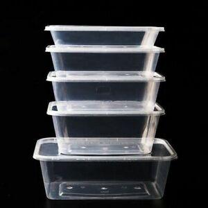 Disposable Microwavable Plastic Food