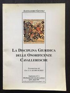 La-disciplina-giuridica-delle-onoreficenze-cavalleresche-Alessandro-Gentili