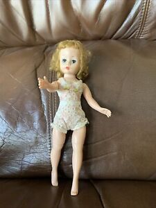 "Vintage 1950s Madame Alexander 9 "" Blonde Cissette Doll W/Original Under Garment"