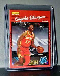 Onyeka Okongwu 2020-2021 Panini NBA Instant #6 Rated Rookie Retro Card 1/3558
