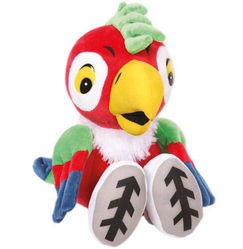 "Kesha the Parrot Russian Talking Plush Stuffed Toy 7/"" Popugay Kesha"