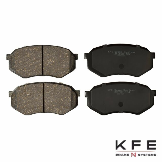 Premium Ceramic Disc Brake Pad FRONT Fits Toyota Tacoma 5 Lug Cressida KFE589
