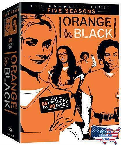 Orange Is The Black Tv Series Complete First Five Seasons Dvd 1 2 3 4 5 For Sale Online Ebay