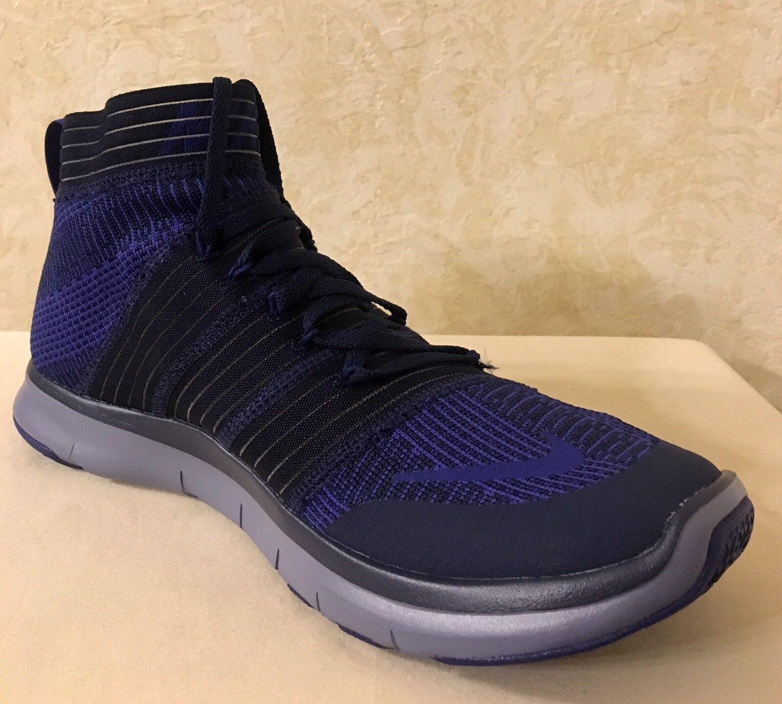 Men Nike Free Train Virtue Training Athletic Navy/Deep Royal Shoes 898052 401 Brand discount Cheap and beautiful fashion