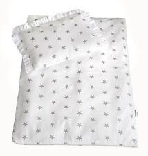 4 tlg Set Bezug für Kinderwagen Garnitur Bettwäsche Decke + Kissen + Füllung
