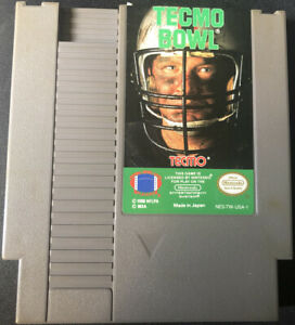 Tecmo-Bowl-Nintendo-Entertainment-System-NES-Great-Condition-Cleaned