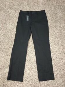 Express-Producer-Dress-Pants-29-X-30-Mens-Modern-Fit-Charcoal-Dark-Gray-NWT