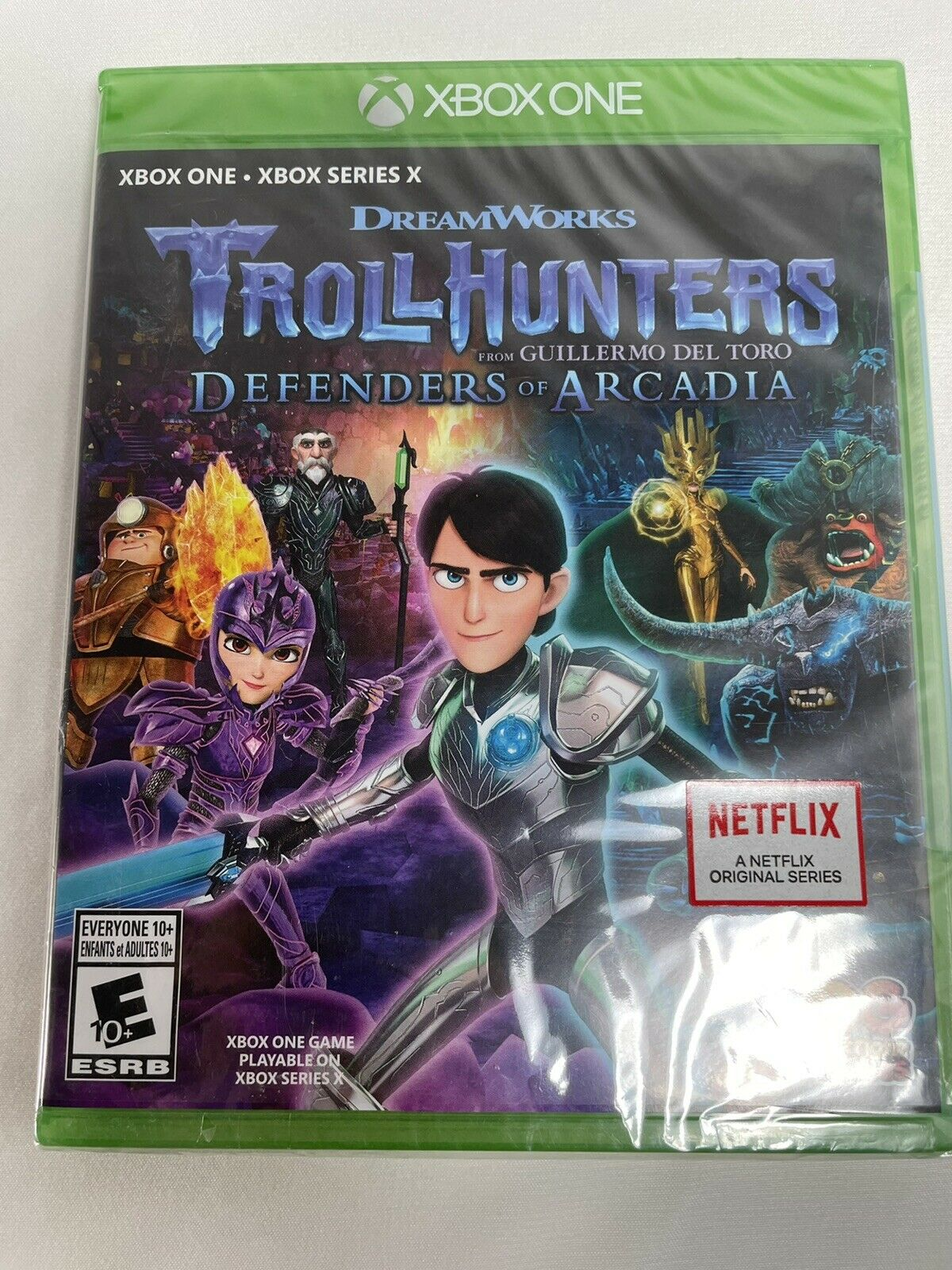 Xbox one video game Dreamworks Troll Hunters defenders of Arcadia factory sealed