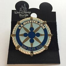 Fantasy Pin - S.S. DIZPINS.COM May 2002 Cruise Event Blue Disney Pin 11798