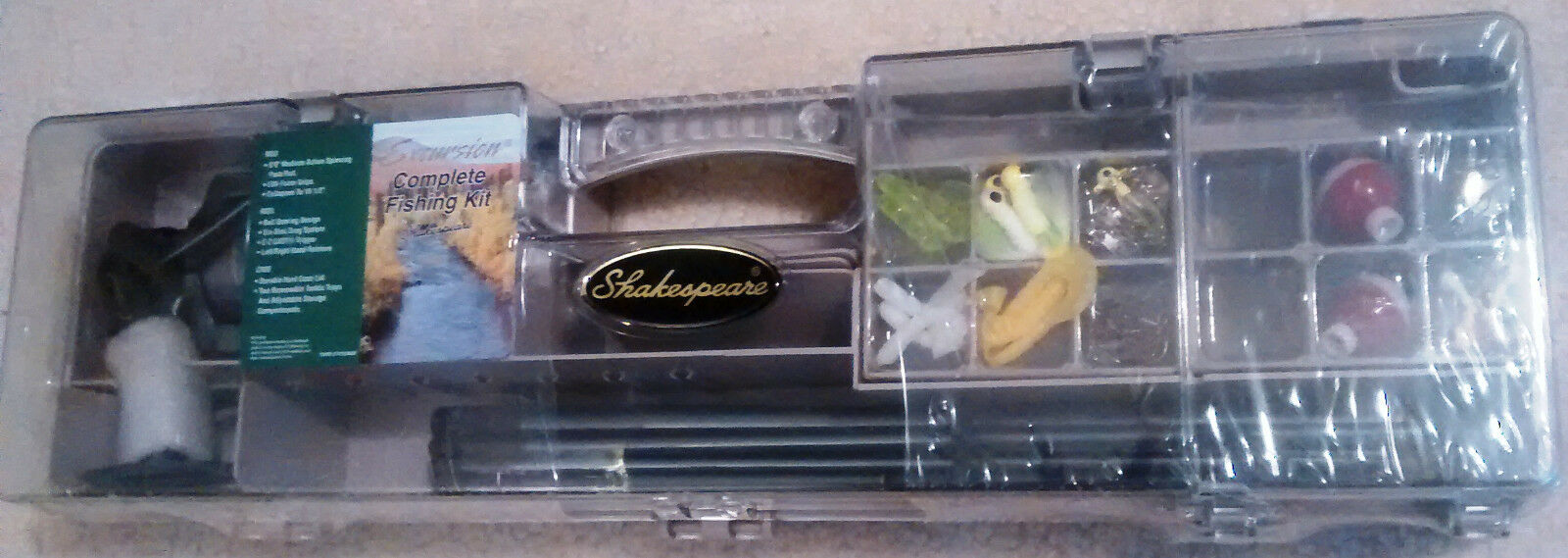 SHAKESPEARE EXCURSION COMPLETE FISHING KIT  BRAND NEW