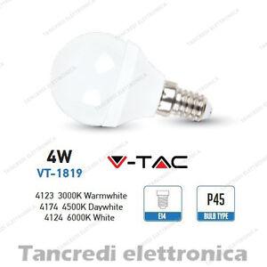 Lampadina-led-V-TAC-4W-30W-E14-VT-1819-P45-miniglobo-bianca-lampadine-smd-VTAC