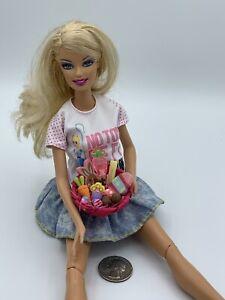 1:6/1:12 Dollhouse Miniature Easter Basket Eggs Candy Handmade OOAK Bunny Carrot