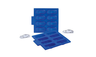 Porsche Ice Cub Tray Jello Chocolate Mold 911 Carrera Shape Driver's Selection
