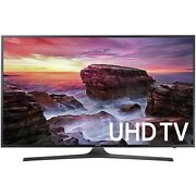 "Samsung UN55MU6290FXZA Flat 54.6"" LED 4K UHD 6 Series Smart TV (2017 Model)"