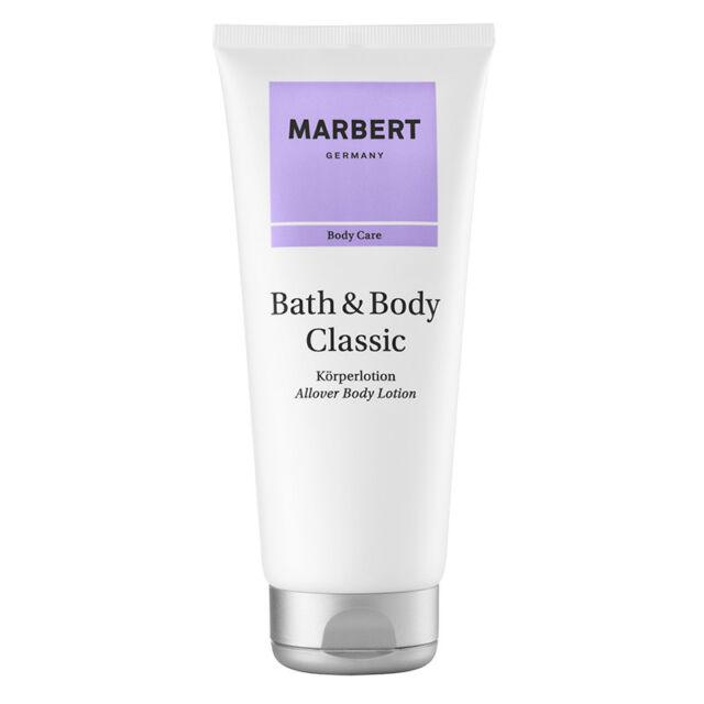 Marbert Bath & Body Classic Körperlotion / Bodylotion 200ml