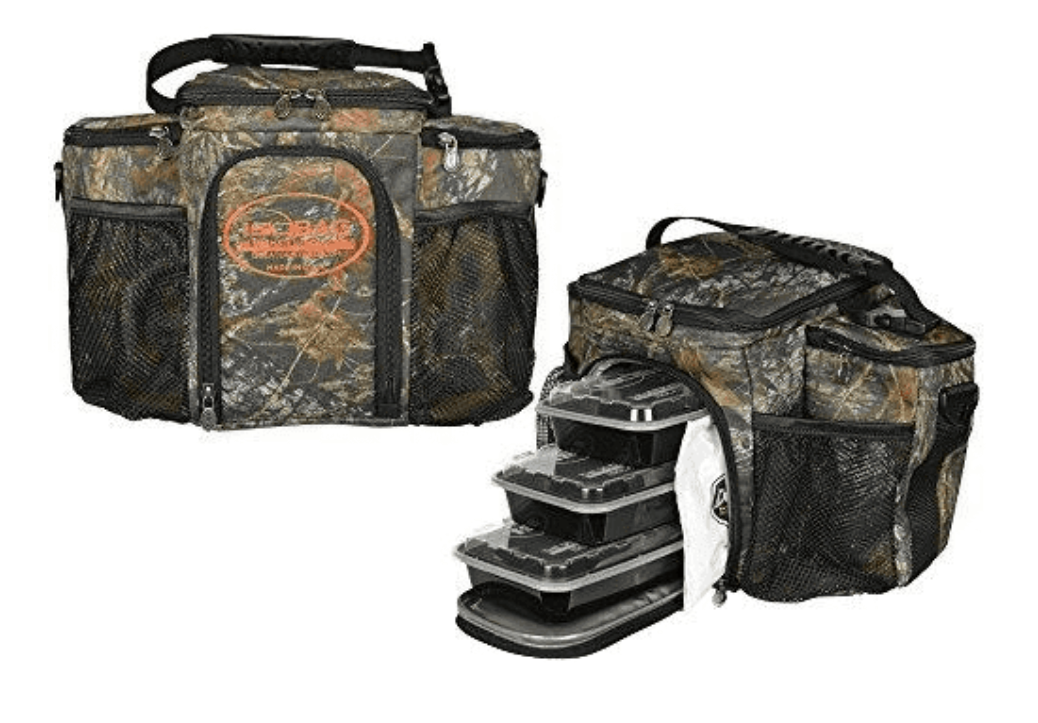 Isolateur ISOBAG Sac-Repas Isotherme Refroidisseur 6 Empilables Conteneurs Mossy Oak