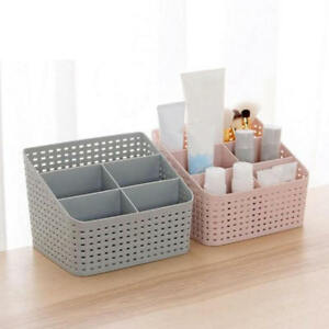 b80d461f5d4f Details about 5Grids Plastic Desktop Office Storage Box Case Makeup  Cosmetic Organizer Holder