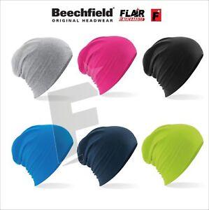be8648bca06 Image is loading Beechfield-Hemsedal-Cotton-Slouch-Beanie
