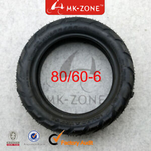 80/60-6 Vacuum Tubeless tire Tyre For E-Scooter Motor