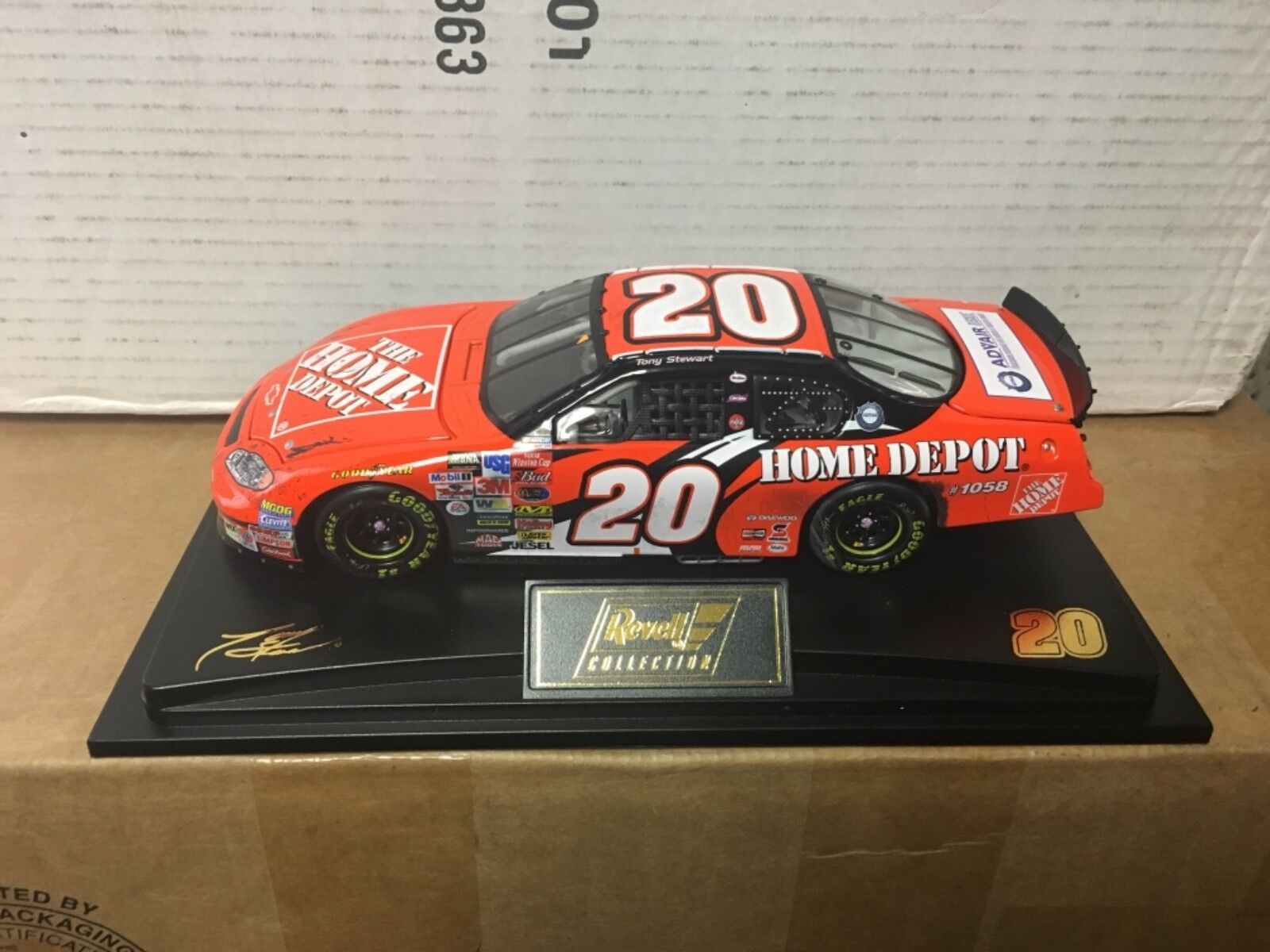 Tony Stewart 1 24 Home Depot 2003 Monte Carlo Raced Version 1,888 Made L@@K