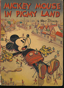 mickey mouse in pigmy land