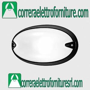 Plafoniera-applique-parete-esterno-design-PRISMA-CHIP-OVALE-30-nero-E27-005782