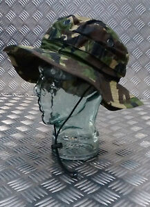 Genuine-British-Army-Tropical-DPM-Woodland-Camo-Boonie-Bush-Hat-NEW