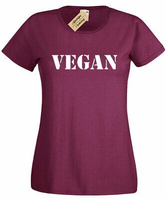 Womans Ladies Girls Vegan Vegetarian Plant Tumblr Fashion Animal Celeb 2 T Shirt