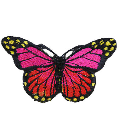 Butterfly iron on Patches Ropa For Clothing Applique Embroidery Parches WF