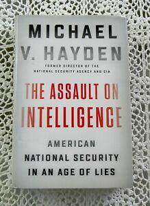 Assault On Intelligence by Michael V. Hayden SIGNED Former CIA Director 1st/1st