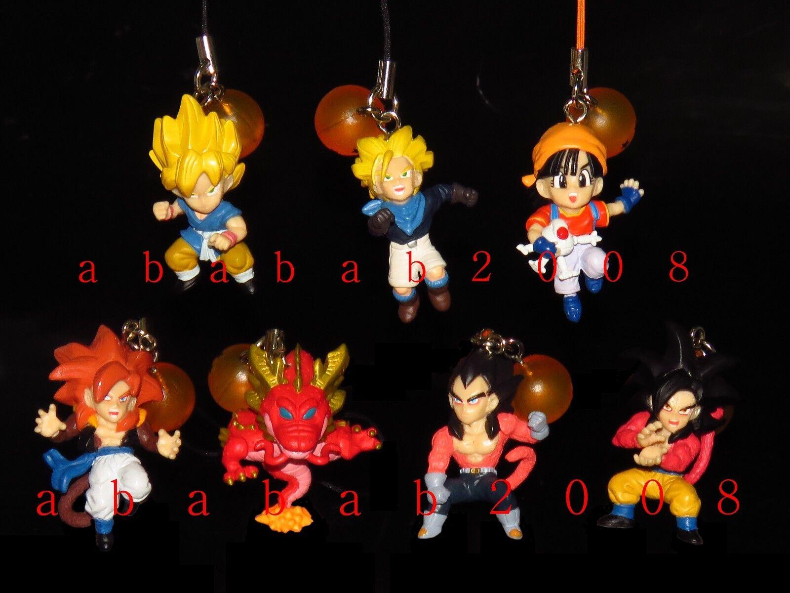 Bandai Dragonball Z DB Part.2 strap Gashapon figure (full (full (full set of 7 figures) 9249f1